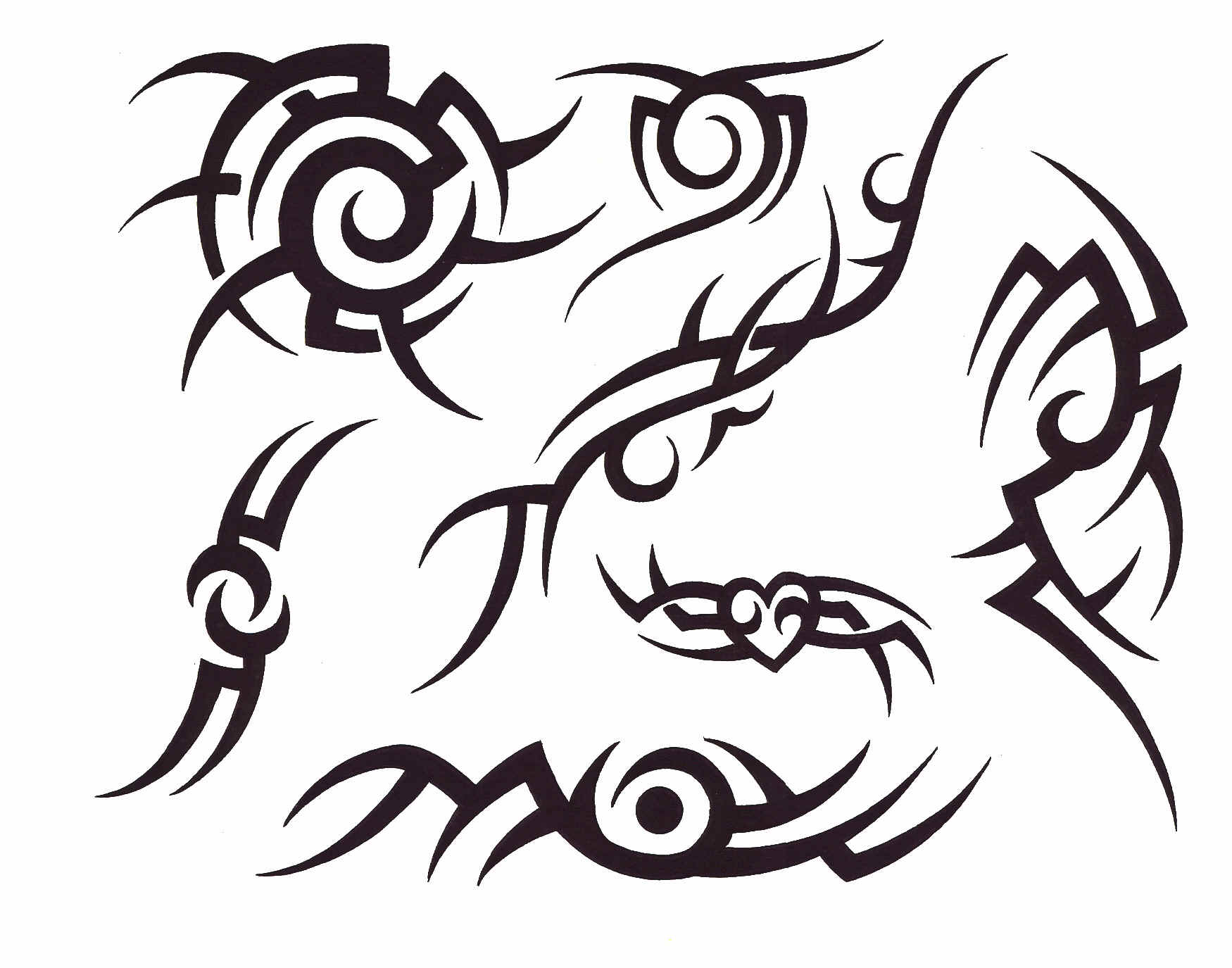Free Tattoo Designs Tribal Design Tattoos